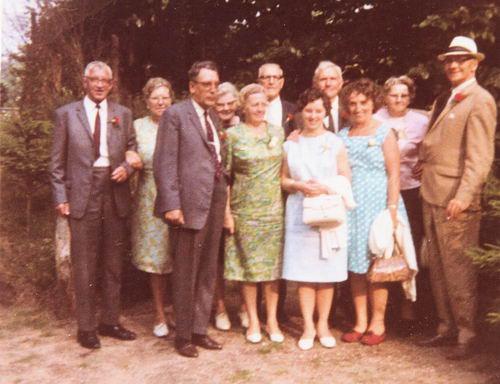 <b>ZOEKPLAATJE:</b>Philippo Onbekend 1967 40 jarig huwelijk oom Ab en tante Marie
