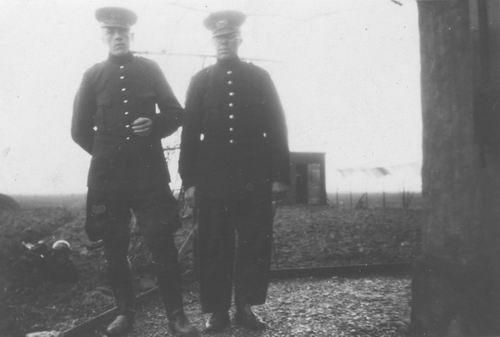 Pol Jan vd 1905 19__ met Veldwachter Wouter vd Pol