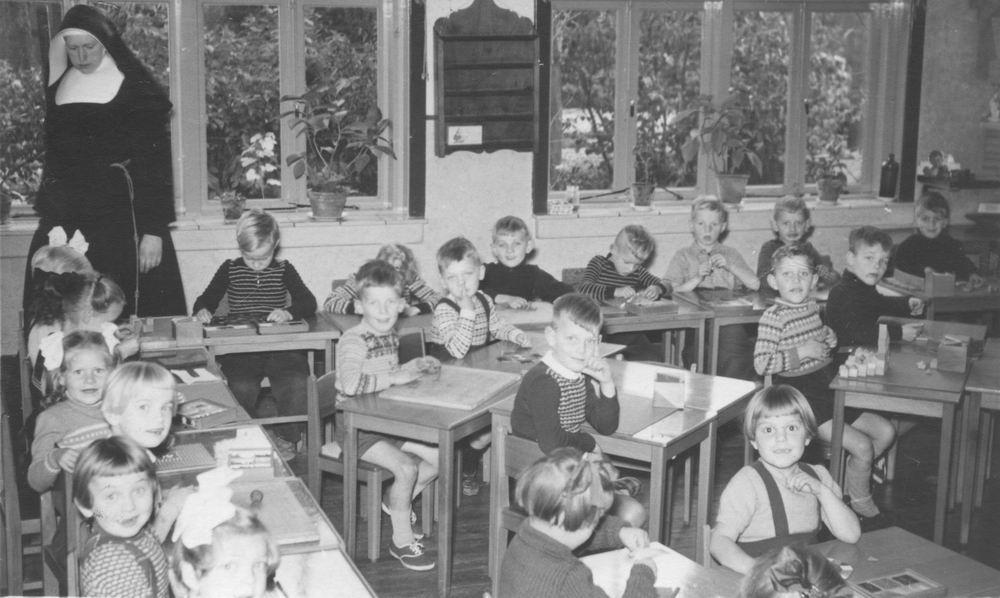 RK Kleuterschool Hoofddorp 1953-54