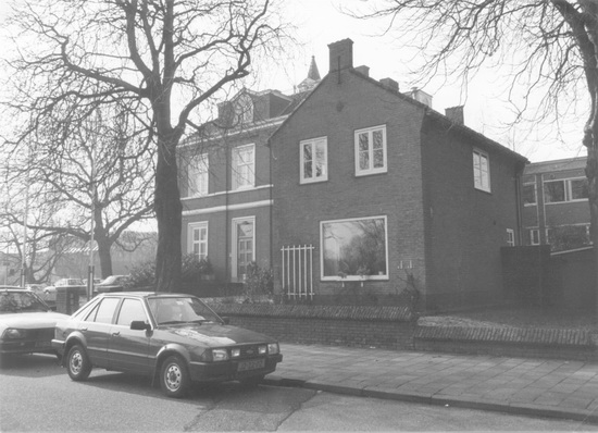 Raadhuislaan 0001 1986 Oude Raadhuis Re-exposure of