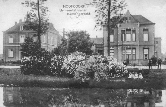 Raadhuislaan 0001-2 1927 Raadhuis en Kantongerecht