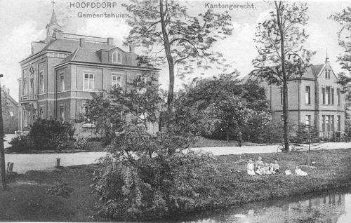 Raadhuislaan 0002 1923 Raadhuis en Kantongerecht