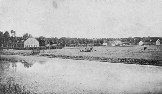 Raadhuislaan 0018 1903 vanaf RK Kerk Uitvergroot