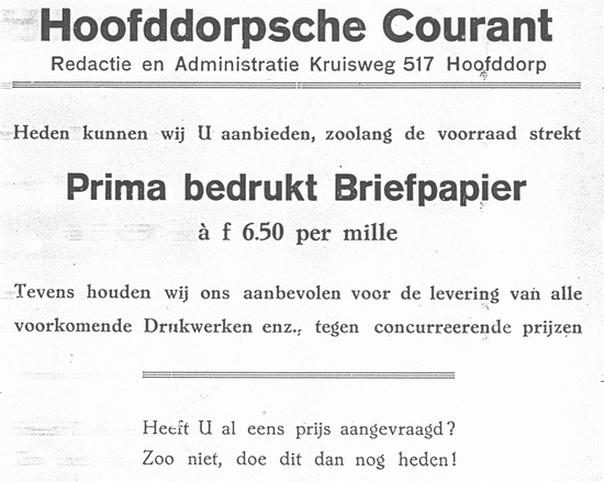Raadhuislaan 0019 1924 HC Redactie op Kruisweg