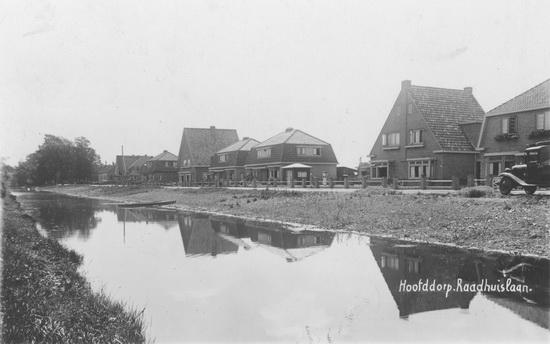 Raadhuislaan 0033-14 1935 vanaf Kruisweg