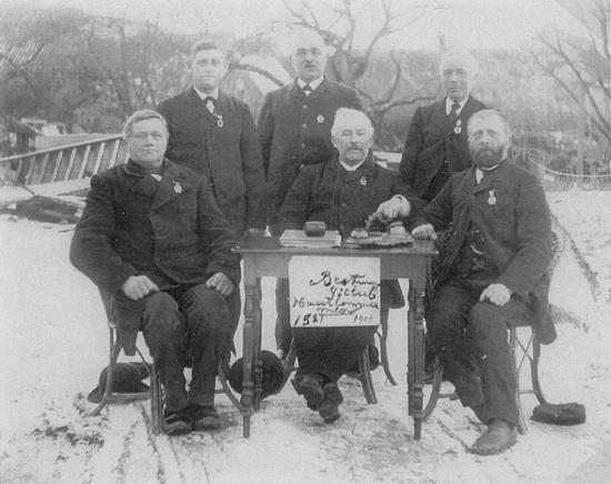 Raadhuislaan 006_ IJsclub Haarlemmermeer bestuur 1906