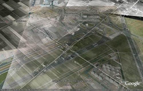 Rijk 196_ Projectie vm Dorp Rijk op Googlemap door Jan Uithol 02
