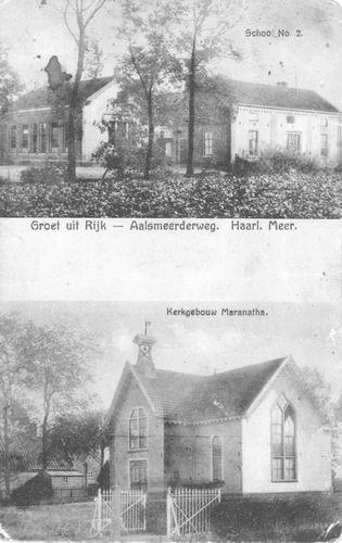 Rijk 2-luik met School 2 en Kerk Maranatha