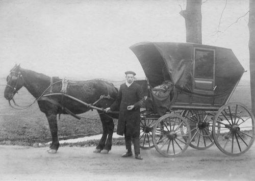 Rijk Harmen C de 19__ met Paard en Kapwagen