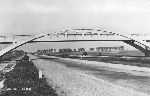 Heijelaan Dr JP 1965 Viaduct over Rijksweg A4