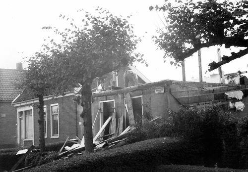 Rijnlanderweg W 0873 19__ Sloop Huize v Kempen