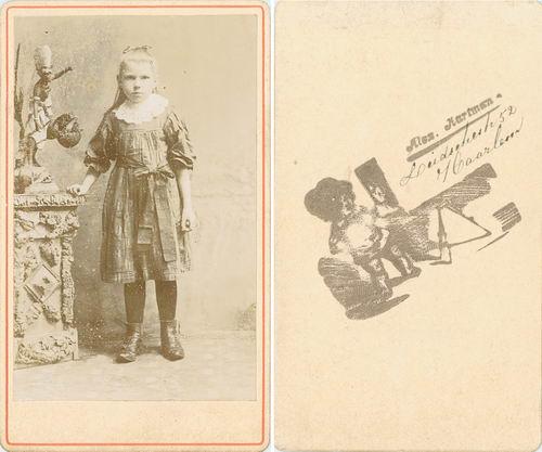 <b>ZOEKPLAATJE:</b>Ruiter Fam Hendrik de 19__ Onbekend Portret Haarlem Hartman 25