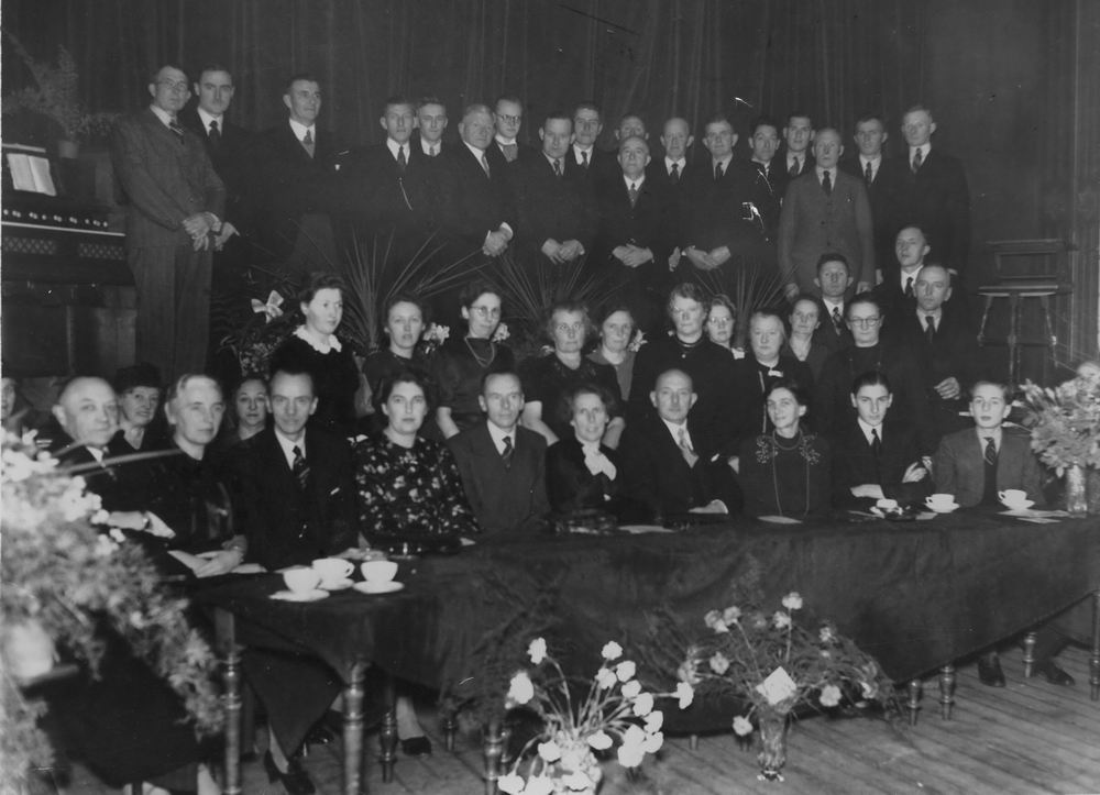 Salverda Dominee 1942 25jr Dominee