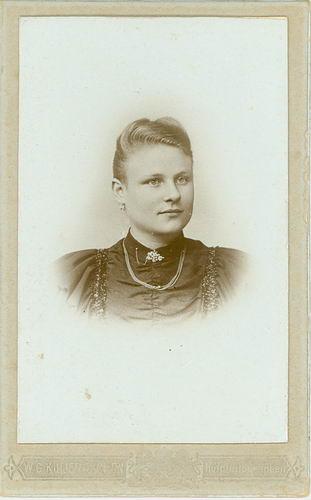 Claij Antje 1878 19__ Portret