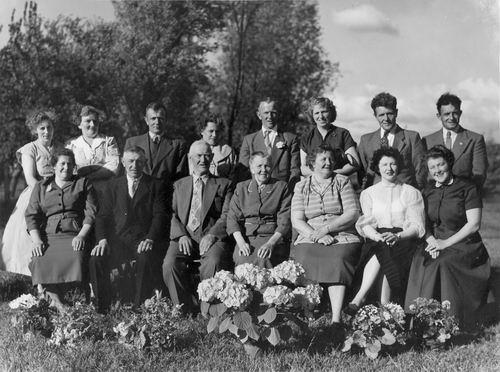 Schijff Cornelis M 1950 Huwelijksfeest met Lena Adriana Gortzak 01