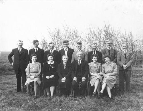 Schijff Cornelis M 1955 Huwelijksfeest met Lena Adriana Gortzak 01