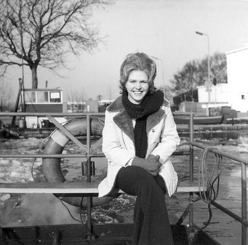 Schijff Matty 1972 bij Pontje Uiterweg