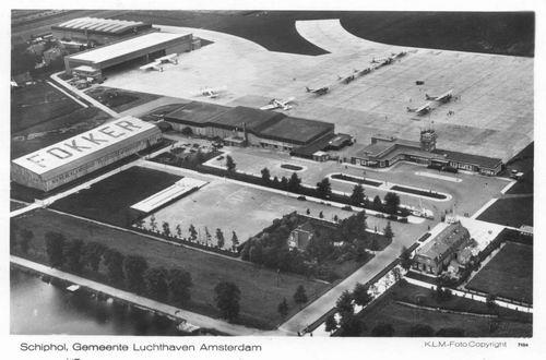 Schiphol 1932 Luchtfoto