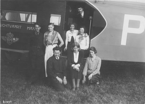 Schiphol 1932 met Coba Resoort 01
