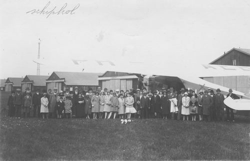 Schiphol 1932 met Coba Resoort 02