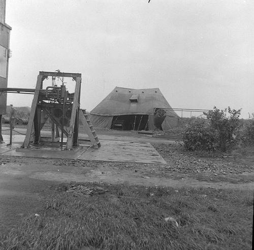 Schiphol 1946 Motoren Proefbank 03