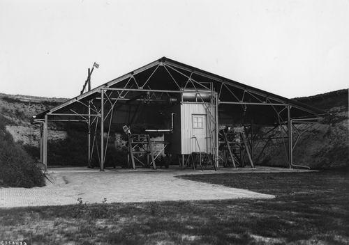 Schiphol 1947 Motoren Proefbank