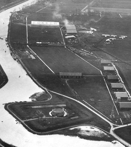 Schipholdijk 0001 1920 fort Het Schiphol