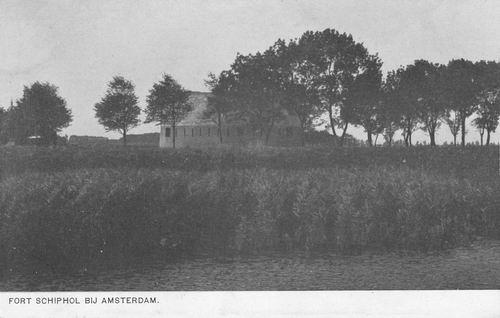 Schipholdijk 000_ 1914 Fort Schiphol