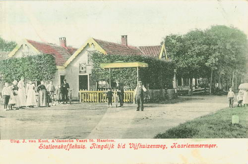 Schipholdijk 0270 1907 Stations Koffiehuis K Wink