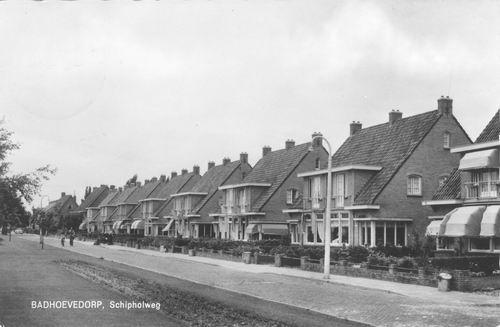Schipholweg N 0387+ 1957 bij Sloterweg