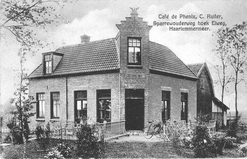 Schipholweg N 0821 1921 Cafe de Phenix