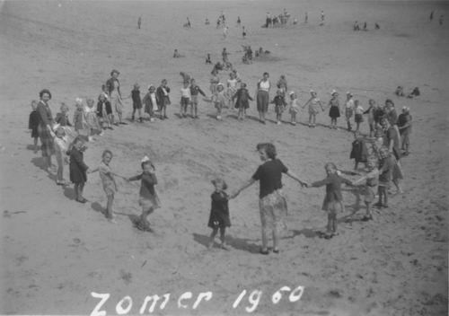 Christelijke School Hoofddorp 1950 Schoolreisje Strand Schoorl 01