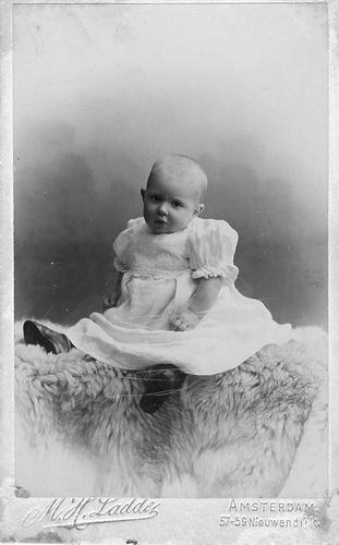 Schouten Antonius Wilhelmus 1906 1907 Baby
