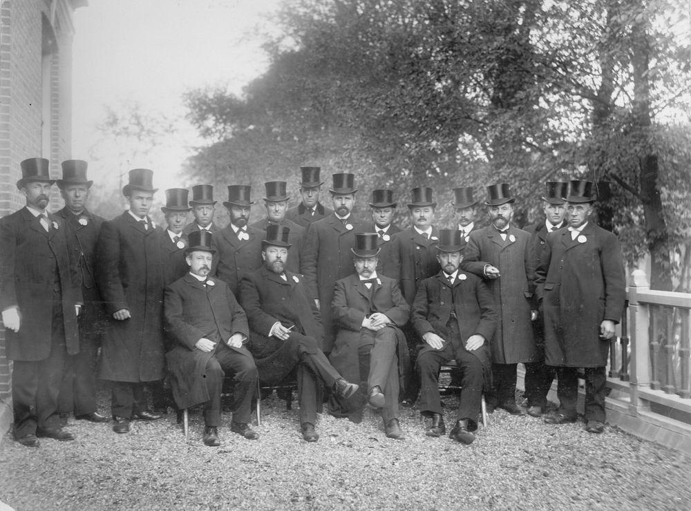 Slob Burgemeester A 1908 Inhuldiging 01
