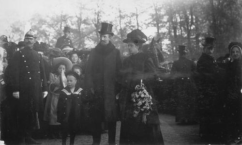 Slob Burgemeester A 1908 Inhuldiging 08