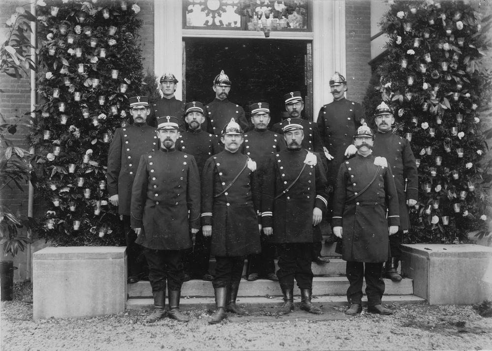 Slob Burgemeester A 1908 Inhuldiging 09