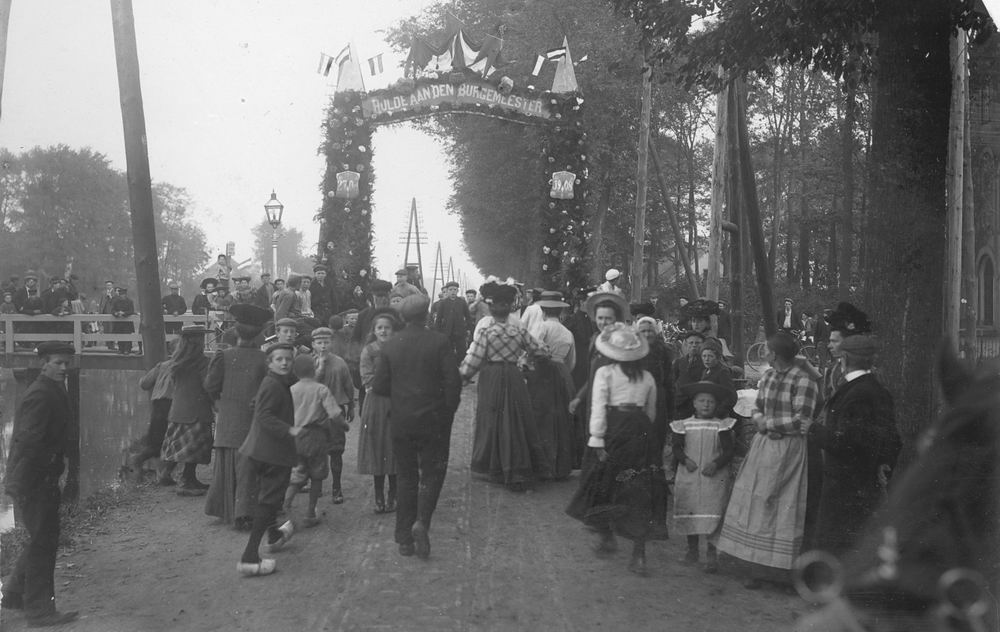 Slob Burgemeester A 1908 Inhuldiging 13