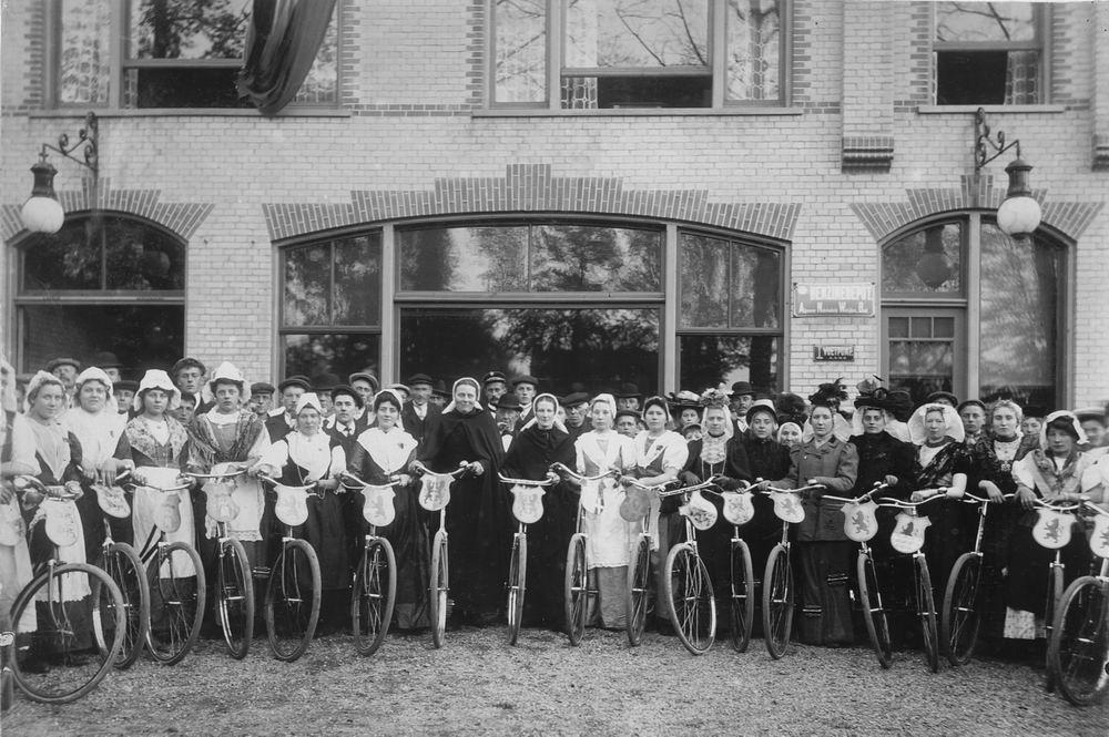 Slob Burgemeester A 1908 Inhuldiging 14