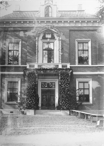 Slob Burgemeester A 1908 Inhuldiging 16