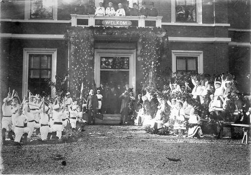 Slob Burgemeester A 1908 Inhuldiging 18
