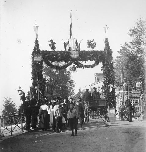Slob Burgemeester A 1908 Inhuldiging 19