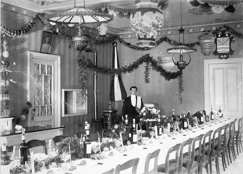 Slob Burgemeester A 1908 Inhuldiging 20