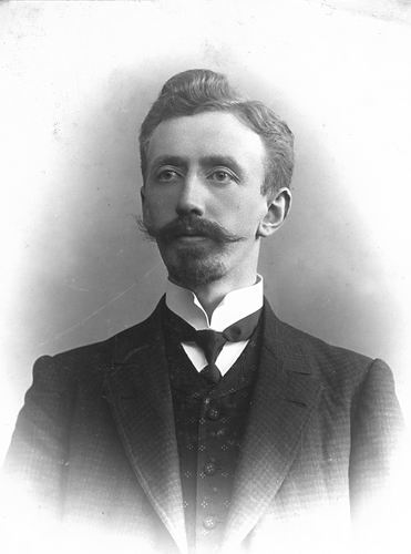 Slob Burgemeester A 1908 Portret