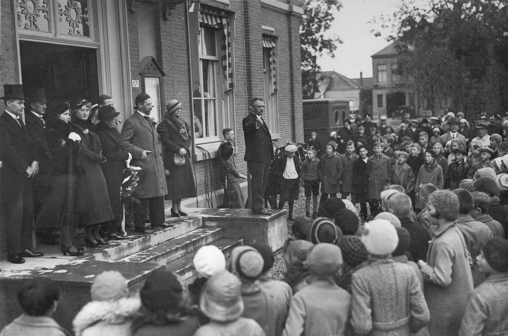 Slob Burgemeester A 1933 25jr Burgemeester Hmeer 04