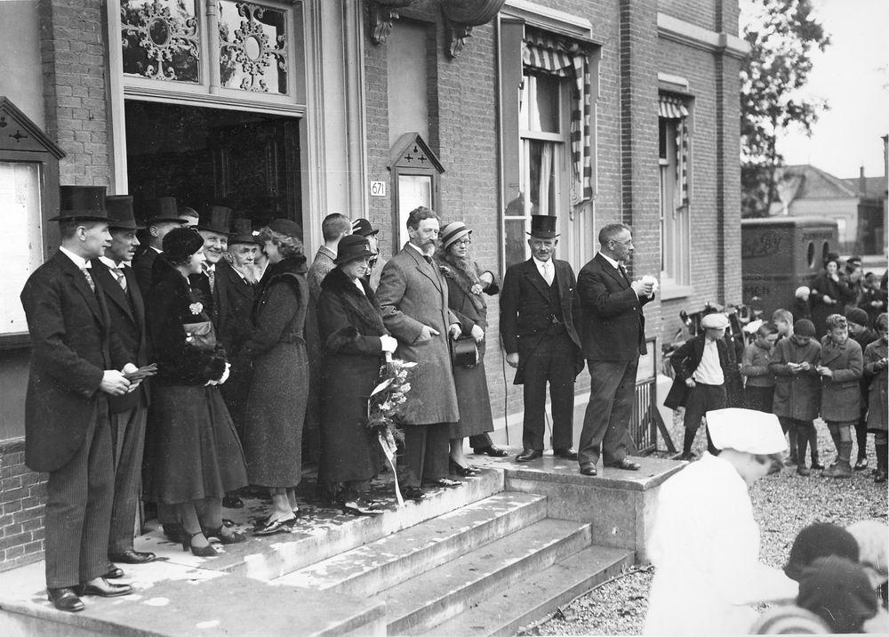 Slob Burgemeester A 1933 25jr Burgemeester Hmeer 09
