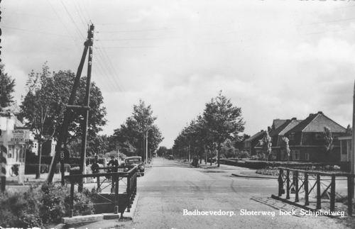 Sloterweg O 02__ 1954 bij kruising Schipholweg