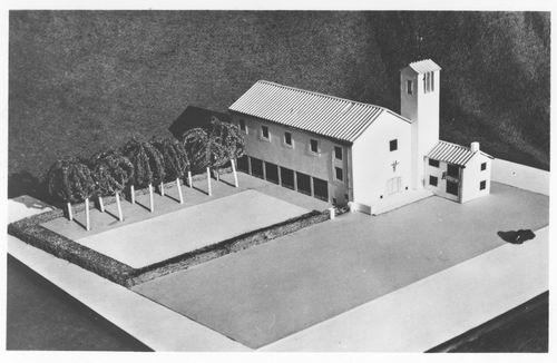Sloterweg W 0083 19__ NH Immanuelkerk Maquette