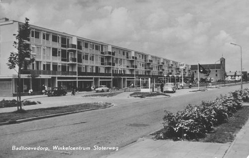 Sloterweg W 009_ 1965 winkelcentrum
