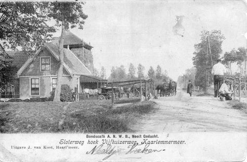 Sloterweg W 0591 Bondscafe Nooit Gedacht 1905