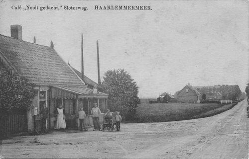 Sloterweg W 0591 Bondscafe Nooit Gedacht 1920